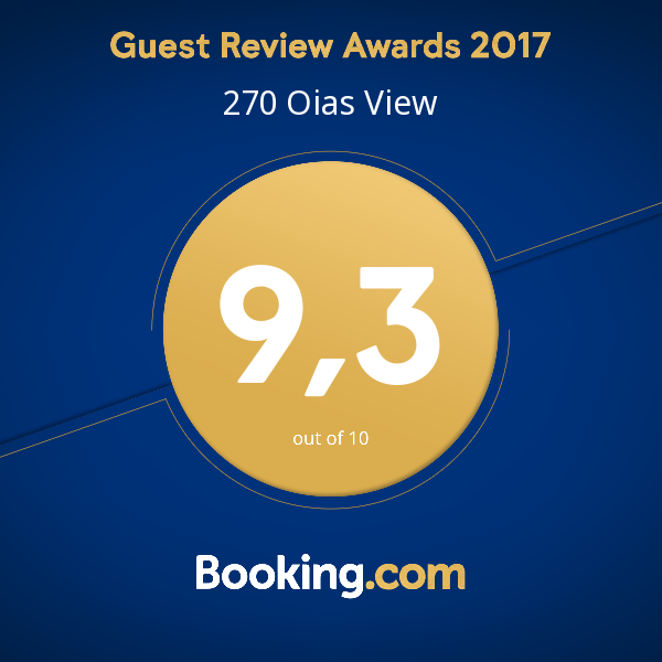 270 Oias View 2018 Booking Reward